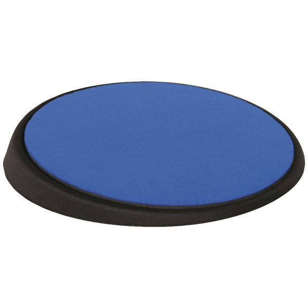 allsop 26226 wrist aid circular mouse pad blue adjustable angle